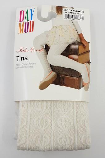 DAYMOD ÇORAP - Daymod Kız Çocuk İnce Külotlu Çorap Tina Desenli (6 adet)