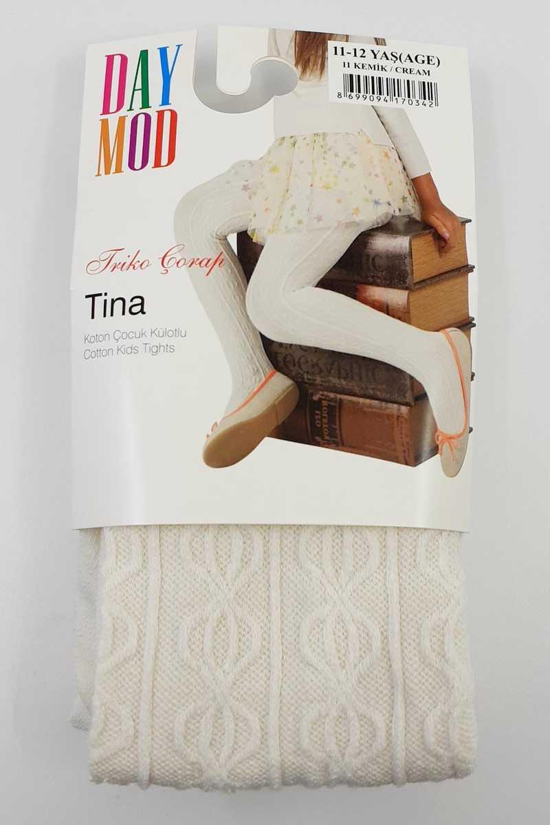 Daymod Kız Çocuk İnce Külotlu Çorap Tina Desenli (6 adet)