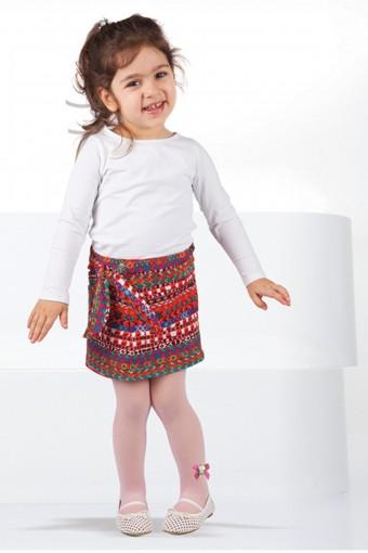 DAYMOD - Daymod Kız Çocuk İnce Külotlu Çorap Yaren Tül File (6 adet)