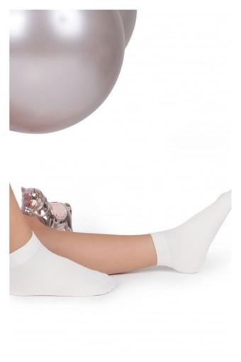 DAYMOD ÇORAP - Daymod Kız Çocuk İnce Soket Çorap Mikro 50 (12 adet)