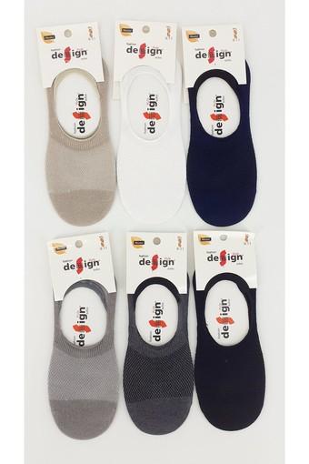 DESİGN - Design Erkek Çocuk Babet Çorap Suba Lacoste Düz (12 adet)