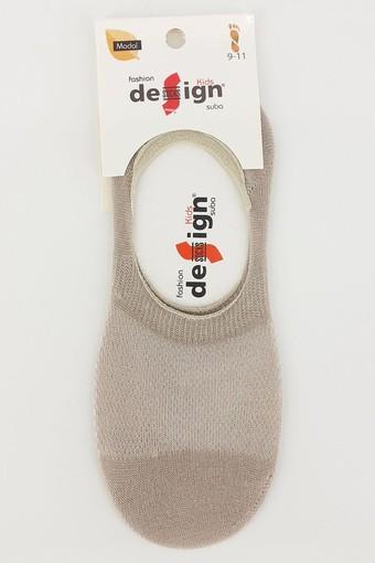 DESİGN - Design Erkek Çocuk Babet Çorap Suba Lacoste Düz (12 adet) (1)
