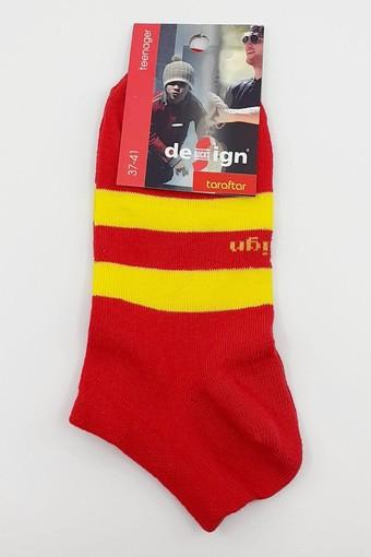 DESİGN - Design Erkek Çocuk Garson Boy Patik Çorap Taraftar DESIGN1003090 (12 adet)