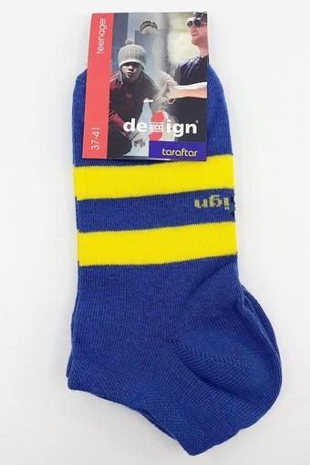 DESİGN - Design Erkek Çocuk Garson Boy Patik Çorap Taraftar DESIGN1003090 (12 adet) (1)