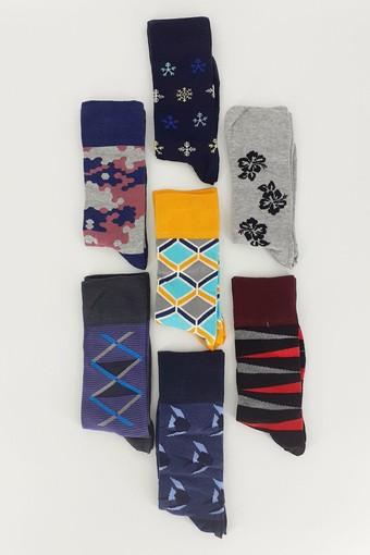 DESİGN - Design Erkek Soket Çorap 7 Gün