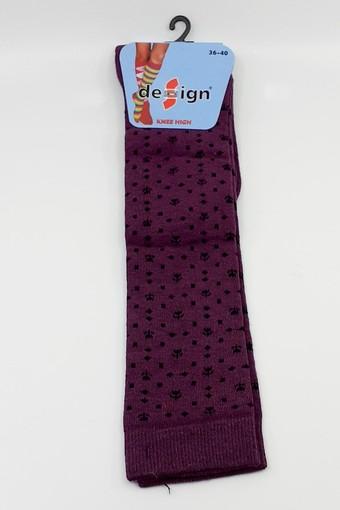 DESİGN - Design Kadın Pantolon Çorabı Kareli Lale (12 adet) (1)