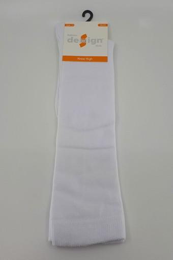 DESİGN - Design Kız Çocuk Dizaltı Pantolon Çorabı Düz DESIGN5402 (12 adet)
