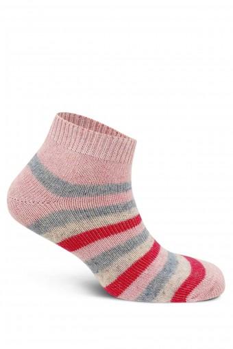 Diba Kadın Patik Çorap Lambswool Likralı Çemberli (12 adet) - Thumbnail