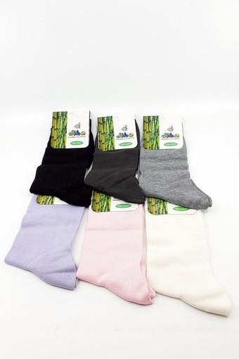 DİBA - Diba Kadın Soket Çorap Bambu (Naylonlu) (12 adet)