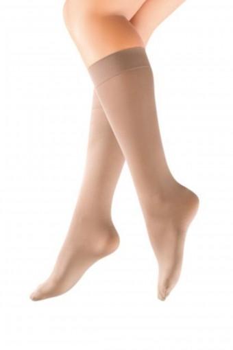 DORE-ROYAL - Dore-Royal Kadın İnce Dizaltı Çorap Saten 70 (12 adet)