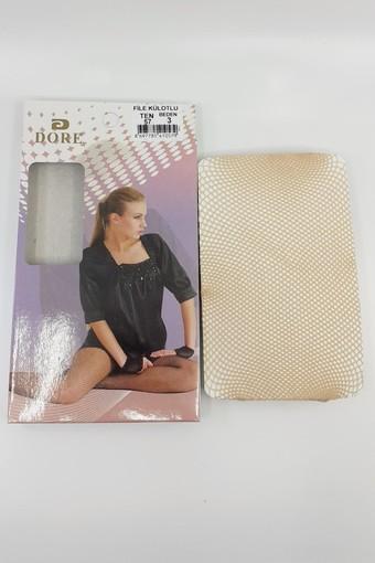 DORE-ROYAL - Dore-Royal Kadın İnce Külotlu Çorap File (6 adet) (1)