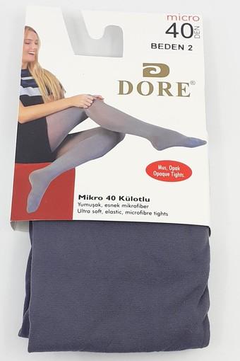 DORE-ROYAL - Dore-Royal Kadın İnce Külotlu Çorap Mikro 40 (6 adet)