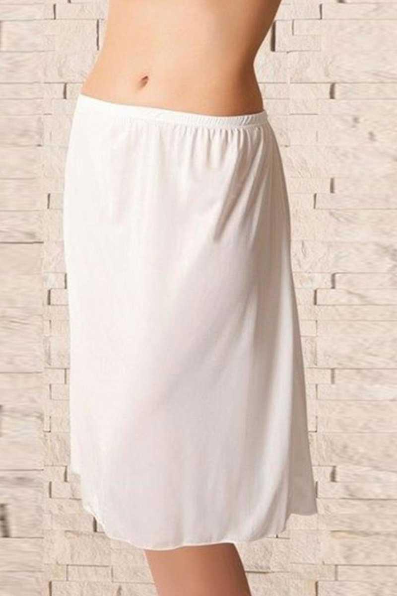 Dorya Kadın Jüpon Modal Uzun - Thumbnail