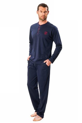 DS DAMAT - Ds Damat Erkek Çeyizlik 4′lü Pijama Takımı DS4016