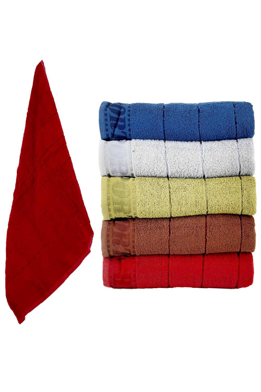 Durul Unisex Yetişkin Banyo Havlusu Sport Bukle 70x140 (6 adet) - Thumbnail