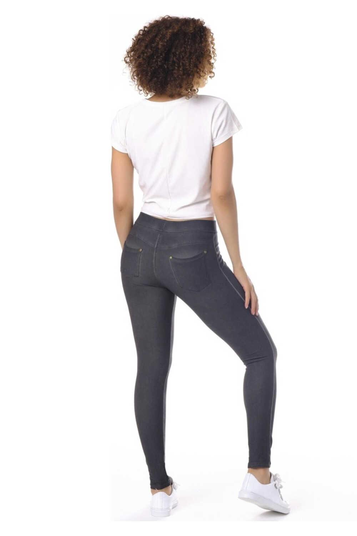Enimon Kadın Tayt Diagonal Pantolon - Thumbnail