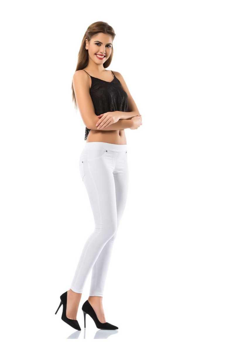 Enimon Kadın Tek Alt Pantolon Denim - Thumbnail