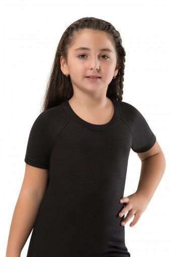 ERDEM - Erdem Unisex Çocuk Kısa Kollu Atlet Termal Reglan