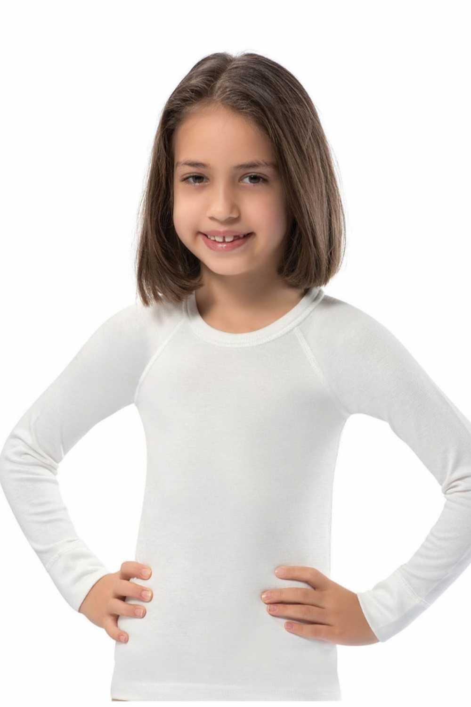Erdem Unisex Çocuk Üst İçlik Uzun Reglan Kol Termal - Thumbnail