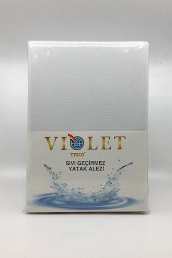 ERKO - Erko Yatak Koruyucu-Alez Çarşaf Polyester Pvc Violet 160x200 (1)