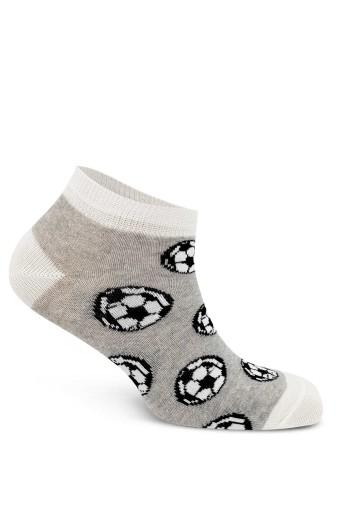 First Erkek Çocuk Patik Çorap Desenli 3'lü (4 adet) - Thumbnail
