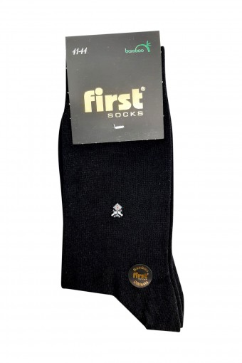 First Erkek Soket Çorap Bambu Dikişsiz Desen:04 (6 adet) - Thumbnail