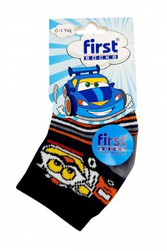 First Erkek Soket Çorap Bambu Dikişsiz Desen:12 (12 adet) - Thumbnail
