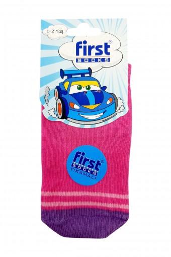 First Kız Bebek Soket Çorap Desen:11 (12 adet) - Thumbnail
