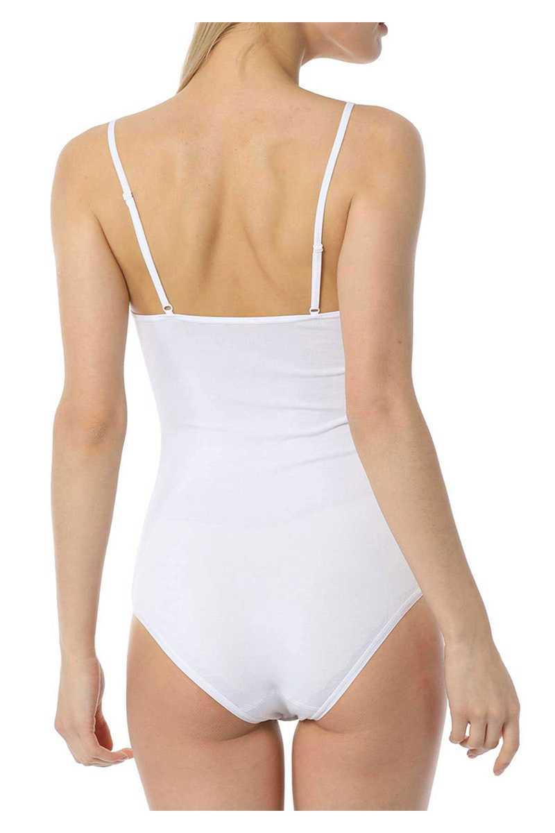 İmer Kadın Çıtçıtlı Body İp Askılı Modal - Thumbnail