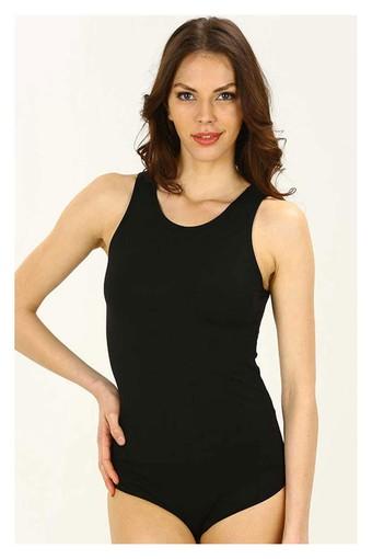 İmer Kadın Çıtçıtlı Body Kalın Askılı Modal IMER9252 - Thumbnail