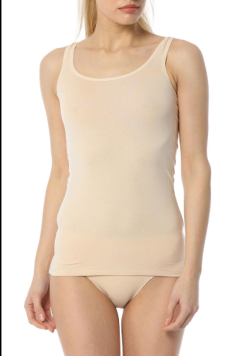 İmer Kadın Kalın Askılı Atlet Modal Süprem IMER1238 - Thumbnail