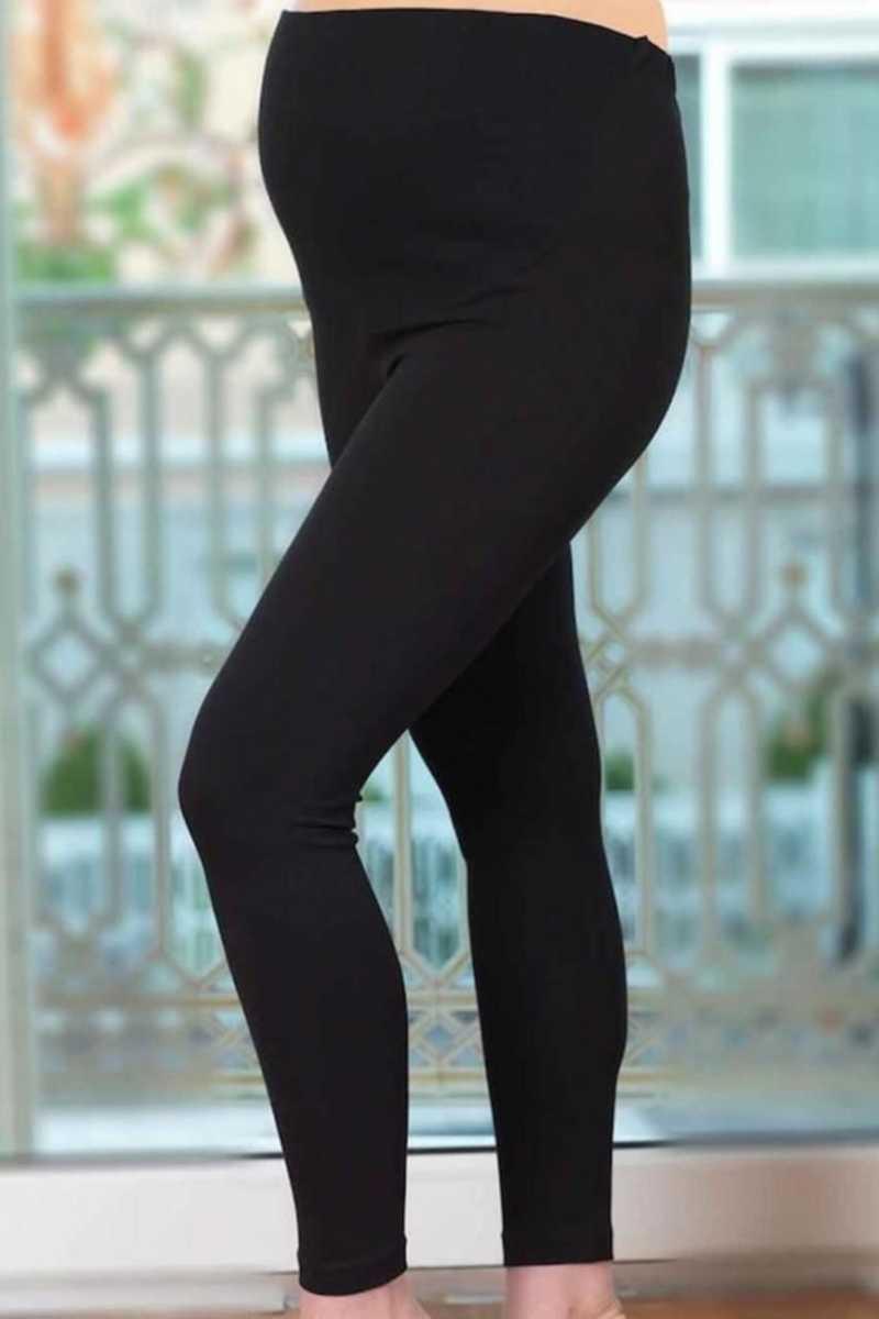 İmer Kadın Tayt Modal Hamile Uzun IMER4341 - Thumbnail
