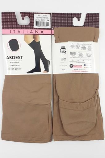 İTALİANA - İtaliana Kadın Abdest Çorabı Polyamid Diz Altı (12 adet)