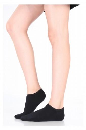 İTALİANA - İtaliana Kadın Babet Çorap (Suba-Görünmez) Peluş Dantelli (6 adet)