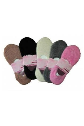 İTALİANA - Italiana Kadın Ev Babet Çorabı Alev Alev (12 adet)