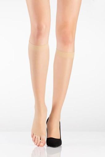 İTALİANA - İtaliana Kadın İnce Dizaltı Çorap Fit 15 Parmaksız (6 adet)