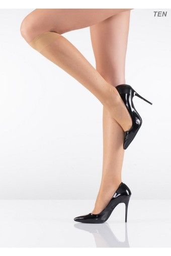 İTALİANA - İtaliana Kadın İnce Dizaltı Çorap Nokta Desenli 15 Denye (12 adet) (1)