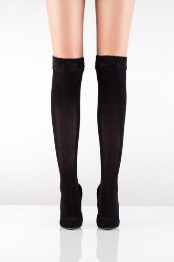 İTALİANA - İtaliana Kadın İnce Dizüstü Çorap Puffy 150 Denye Cozy Pamuklu (6 adet)