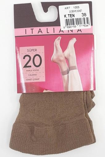 İTALİANA - İtaliana Kadın İnce Soket Çorap 20 Den (12 adet) (1)