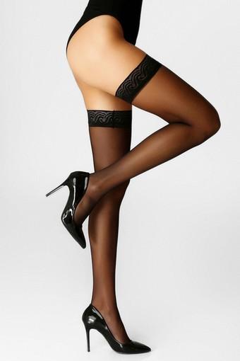 İTALİANA - İtaliana Kadın Jartiyer Çorap Fit 15 Dantel Silikonlu Jartiyersiz (6 adet) (1)