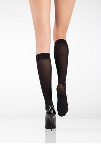 İTALİANA - İtaliana Kadın Kalın Dizaltı Çorap Mikro 70 Masaj Çorabı (12 adet)