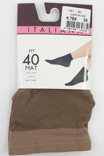 İTALİANA - İtaliana Kadın Soket Çorap 40 Denye Mat (12 adet)