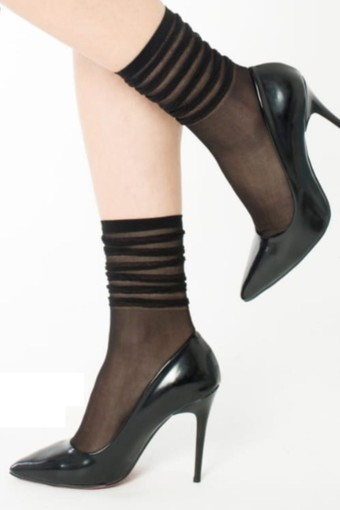 İTALİANA - İtaliana Kadın Soket Çorap Punk (12 adet)