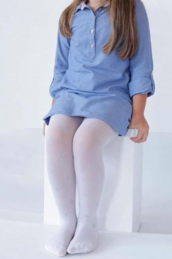 İTALİANA - İtaliana Kız Çocuk İnce Külotlu Çorap Bambuş Düz (6 adet) (1)