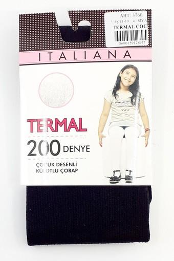 İTALİANA - İtaliana Kız Çocuk İnce Külotlu Çorap Termal (6 adet) (1)