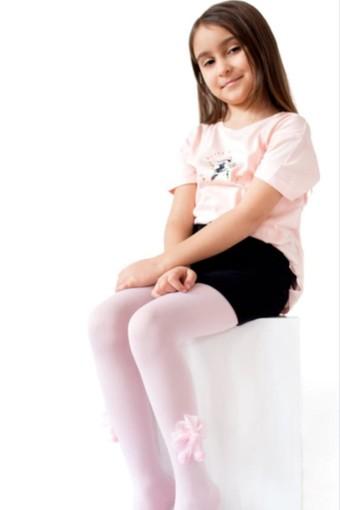 İTALİANA - İtaliana Kız Çocuk Külotlu Çorap Ponponlu (6 adet)