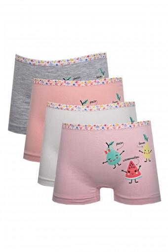 KOZA - Koza Kız Çocuk Boxer Meyveli (10 adet)