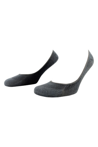 LIKYA - Likya Erkek Babet Çorap Bambu Düz