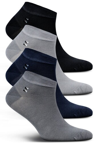 LIKYA - Likya Erkek Patik Çorap Desen 6 Bambu (12 adet)