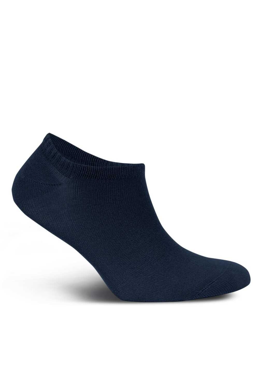 Likya Erkek Patik Çorap Sneaker Düz Bambu - Thumbnail